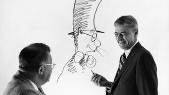 Dr. Seuss and Clifton Fadiman