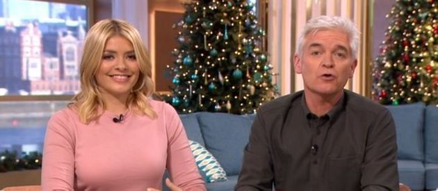 'This Morning' hosts Holly Willoughby and Phillip
