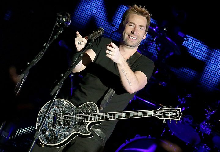 Chad Kroeger says don't drink and drive.