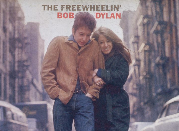 """""""The Freewheelin' Bob Dylan,"""" released by Columbia Records in 1963."""