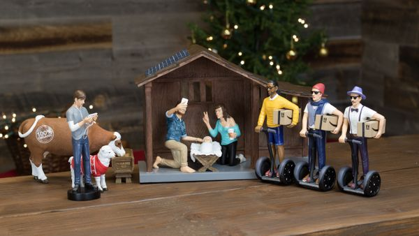 Weird Nativity Scenes Depict Jesus Birth With Hipsters