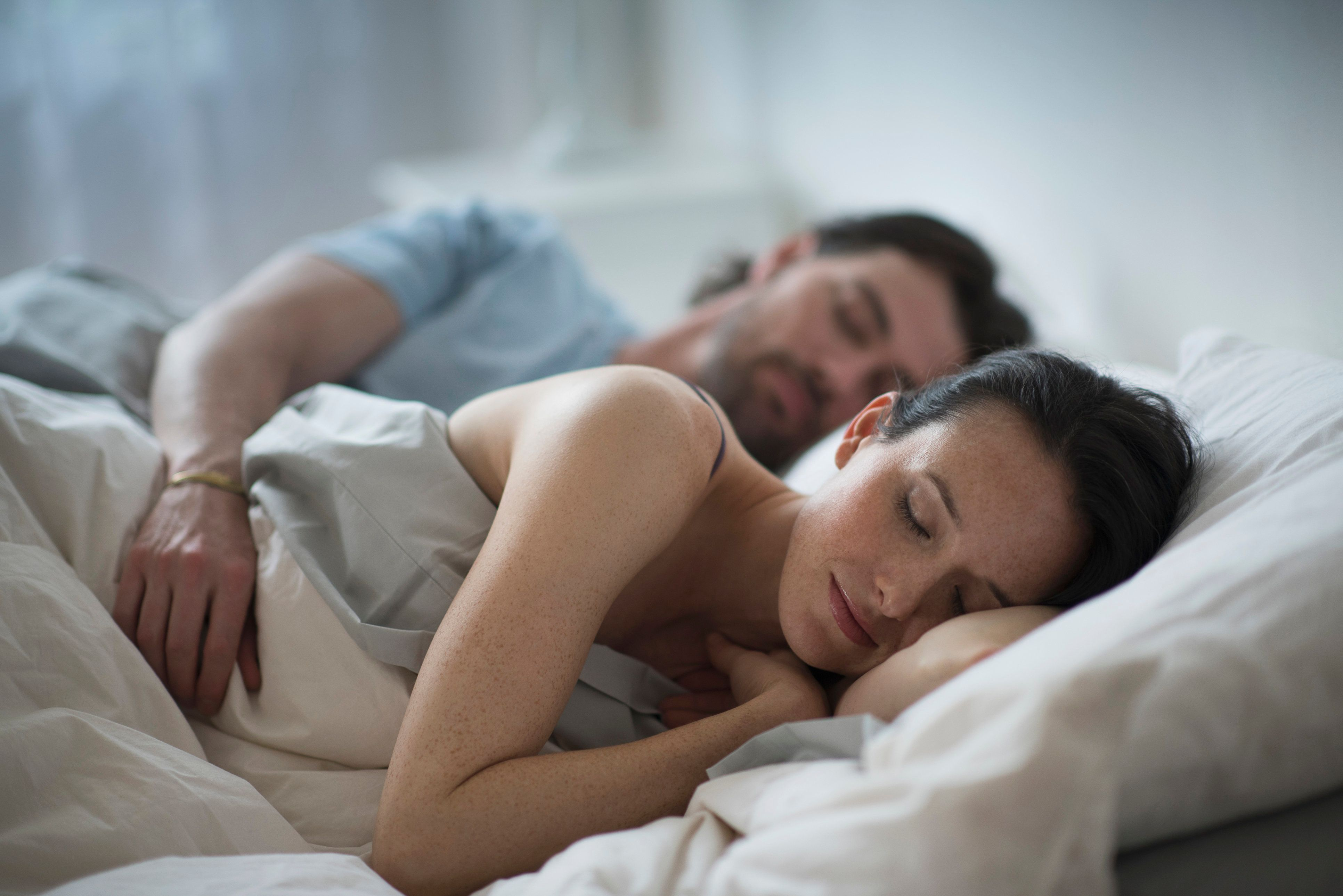 In a small study, men were less able to suppress a negative memory after they'd slept.