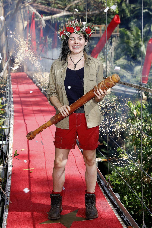 Scarlett Moffatt was crowned queen of the jungle in