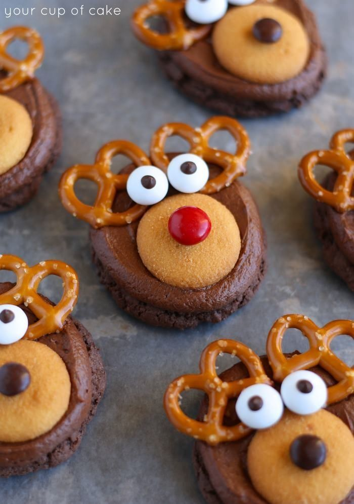 """<strong>Get the <a href=""""http://www.yourcupofcake.com/2014/12/make-rudolph-cookies.html"""" target=""""_blank"""">Rudolf cookies recip"""