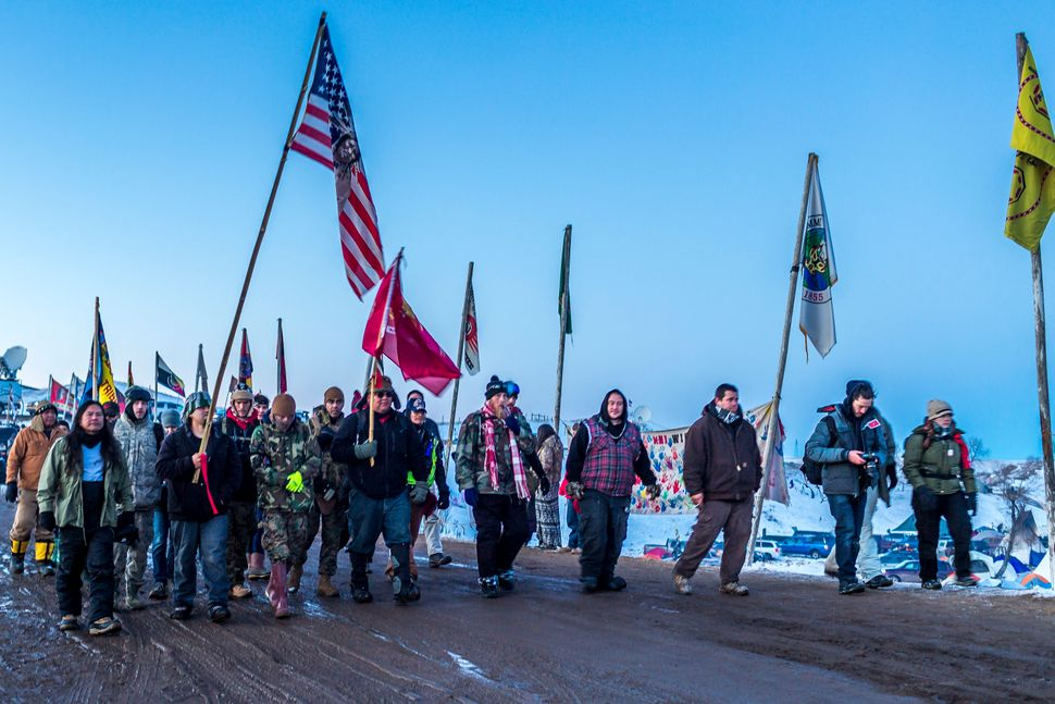 The Showdown at Standing Rock is a win for Native Tribes. The U.S. Army Corps of Engineers turned down a key permit for a the