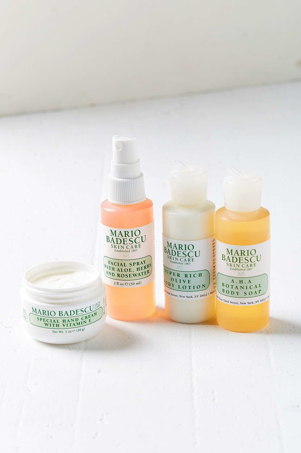 "Mario Badescu face and body set, $28, <a href=""http://www.urbanoutfitters.com/urban/catalog/productdetail.jsp?id=40911042&category=W_FORHER2"" target=""_blank"">Urban Outfitters</a>"