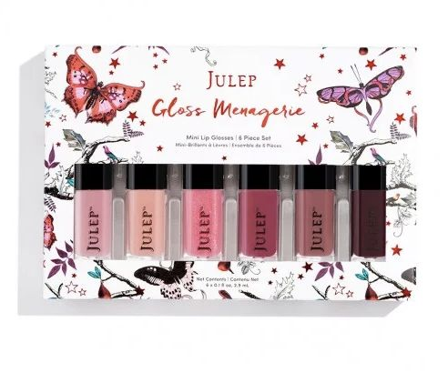 "Gloss Menagerie mini lip glosses 6-piece Sset, $29, <a href=""http://www.julep.com/gloss-menagerie.html"" target=""_blank"">Julep</a>"