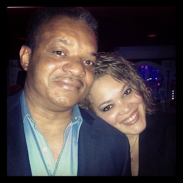 Joe with daughter, Jessica Jude