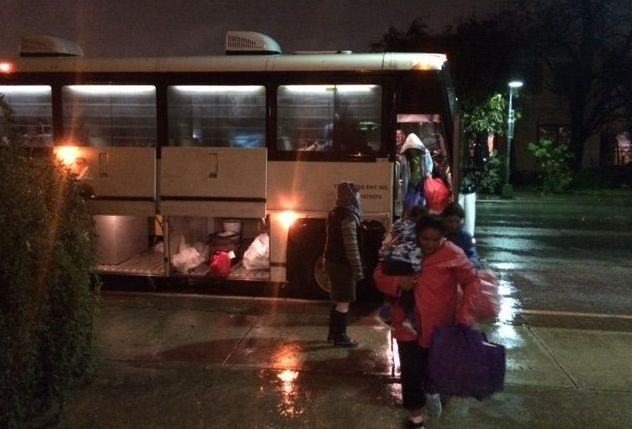 Busloads of mothers and children were dropped off in San Antonio after their release from family immigrant detention.
