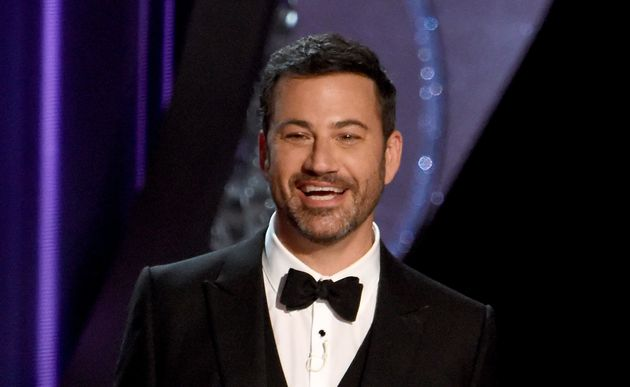 Jimmy Kimmel at the 68th Emmy Awards in September,
