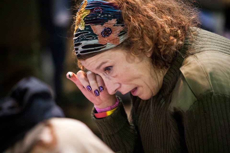 アメリカ先住民、ダコタ・アクセス・パイプライン抗議デモで擁護した退役軍人たちに赦しの儀式(画像)