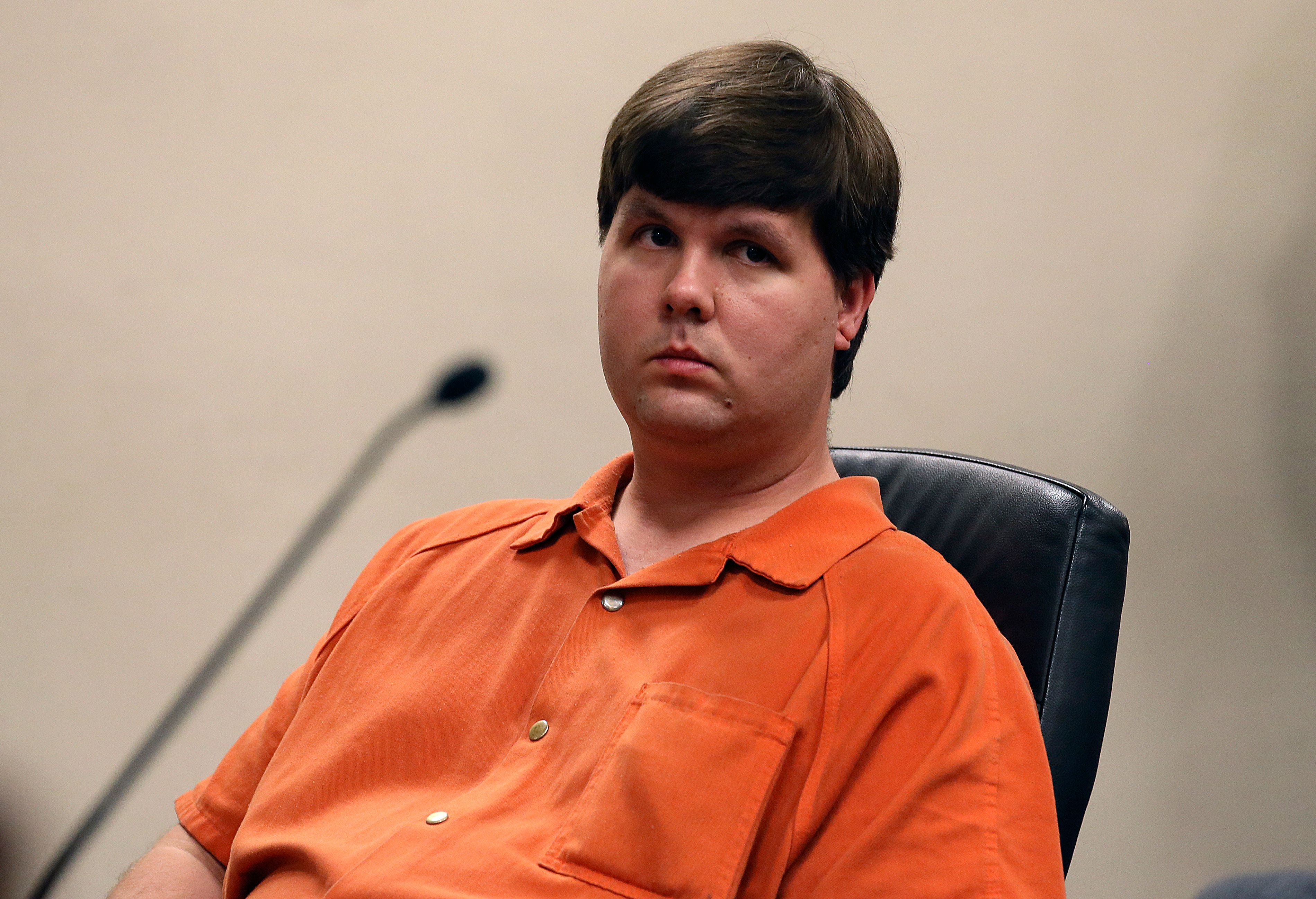 Justin Ross Harris, who is seen during his murder trail back in 2014, was sentenced to life in prison by a judge on Monday.