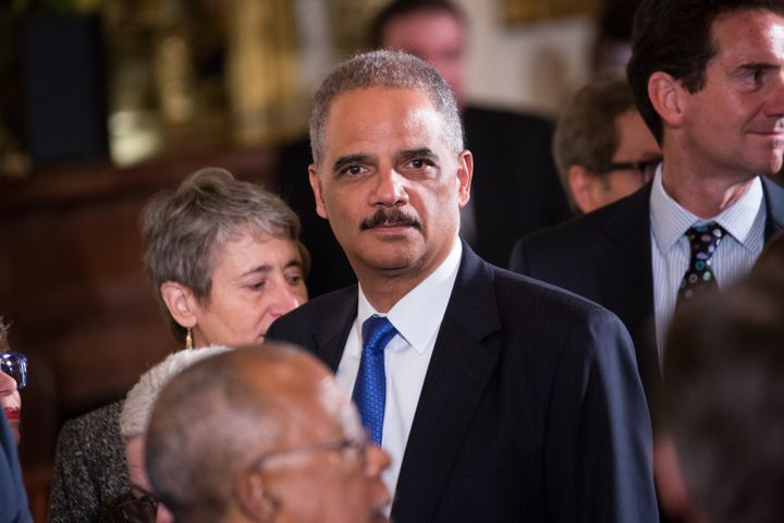 Former Attorney General Eric Holder will lead the National Democratic Redistricting Committee.