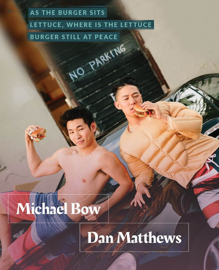Michael Bow and Dan Matthews, the faces of ISAtv, an Asian-American culture and entertainment platform.