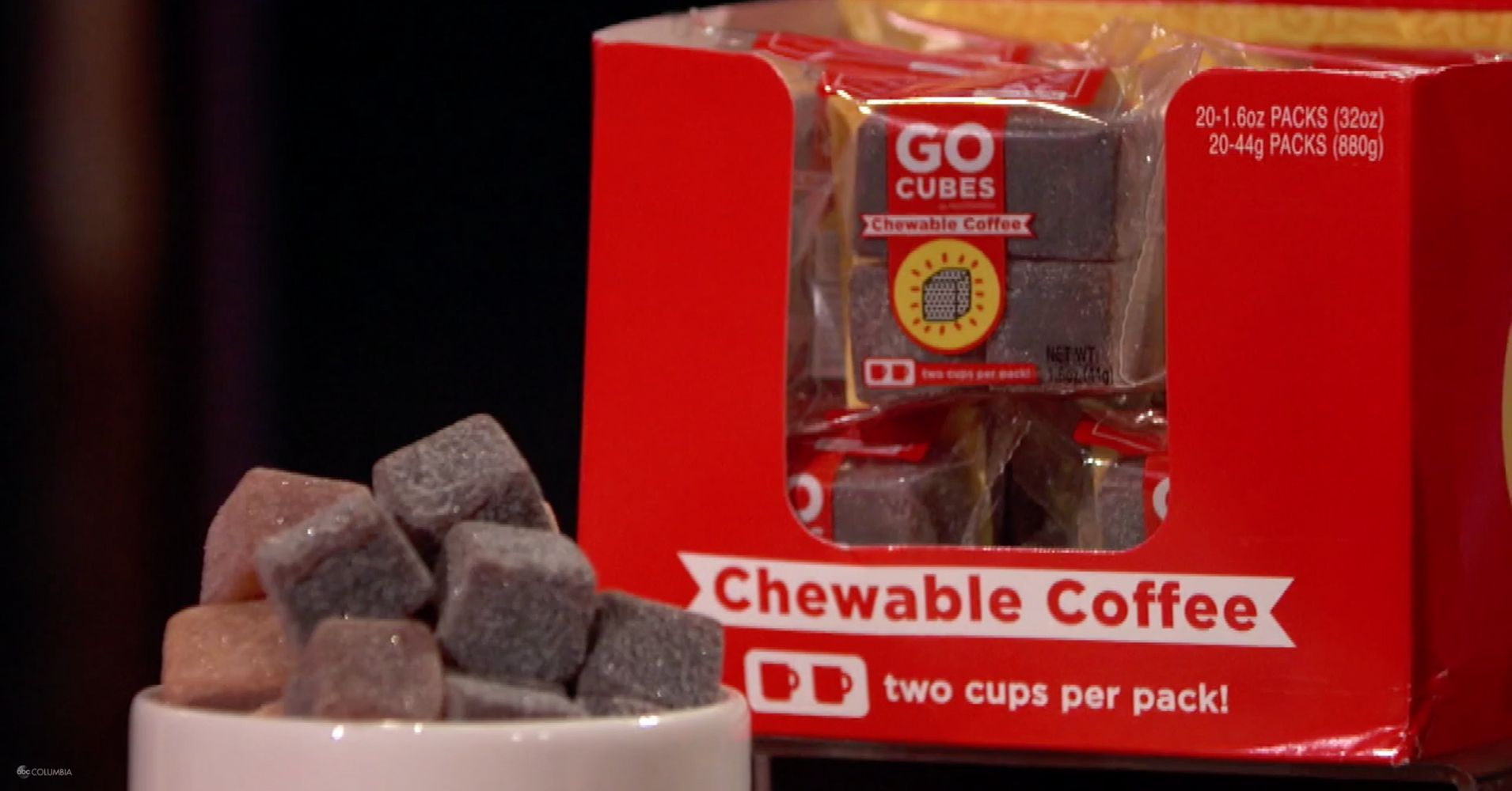 Nootrobox Chewable Coffee Cubes Pitched On Shark Tank Huffpost