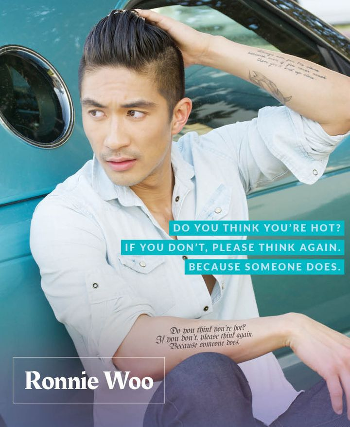 "Ronnie Woo, celebrity chef that hosted Logo TV's ""Food To Get You Laid"" and appears on OWN's ""Home Made Simple."""