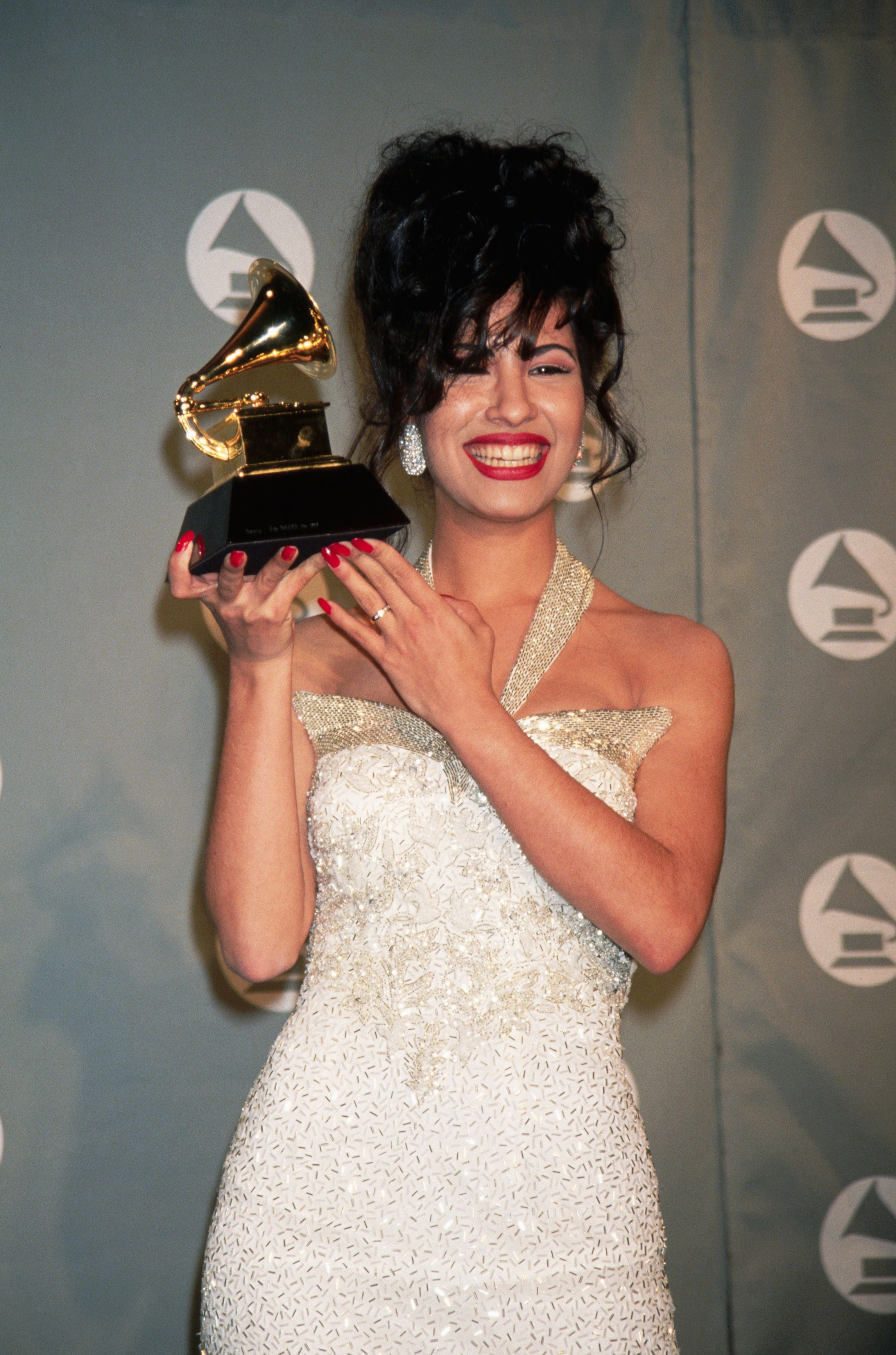 (Original Caption) : Selena:   (Photo by Mitchell Gerber/Corbis/VCG via Getty Images)