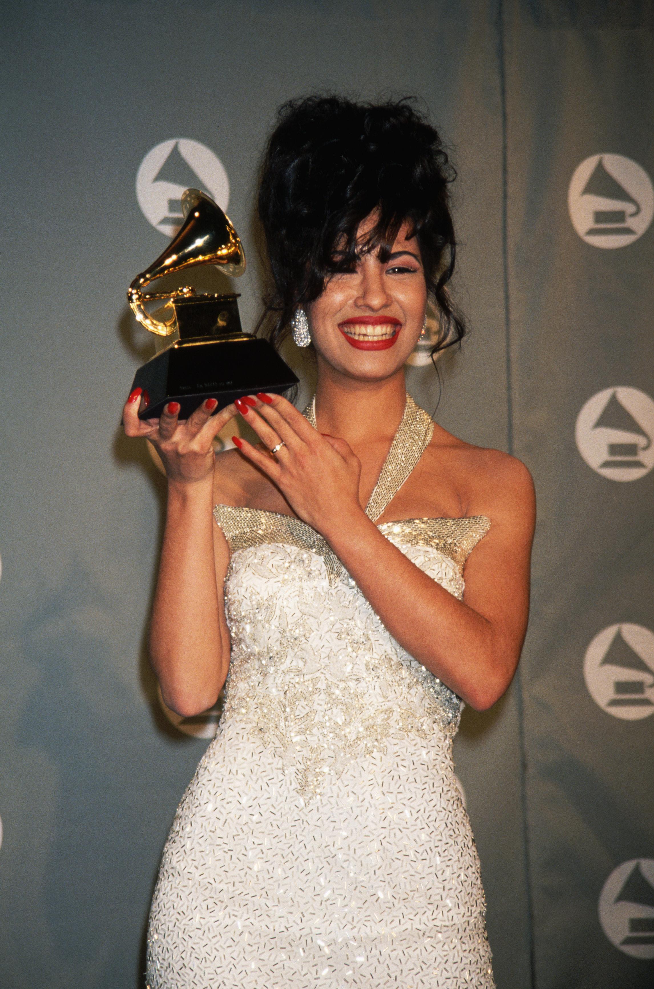 (Original Caption) : Selena:   (Photo by Mitchell Gerber/Corbis/VCG via Getty Images)