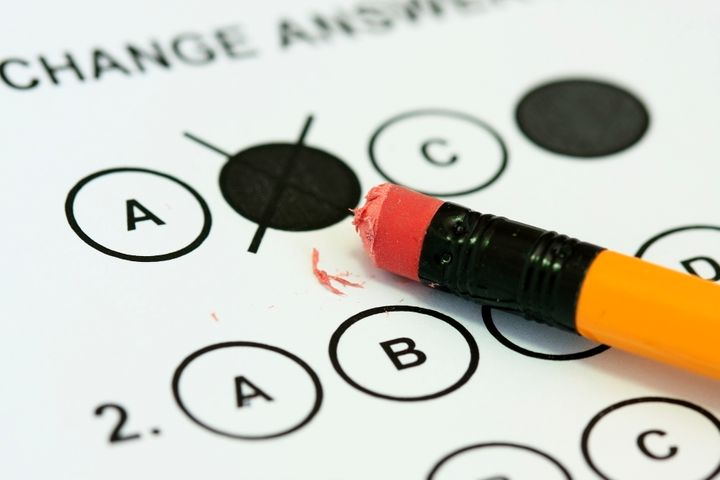 The United States scored below average on the math portion of an international exam.