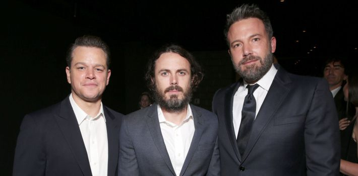 Matt Damon, Casey Affleck, and Ben Affleck.