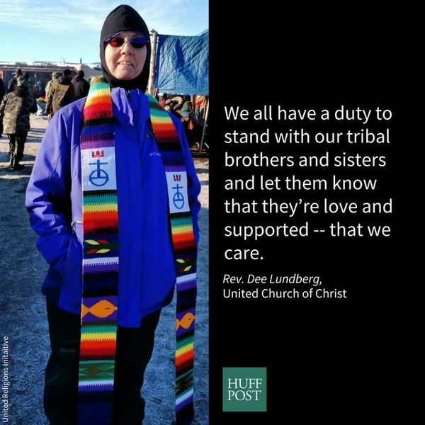 I am a pastor in the United Church of Christ in Wyoming. I standing with Standing Rock because the United Church of Christ ha