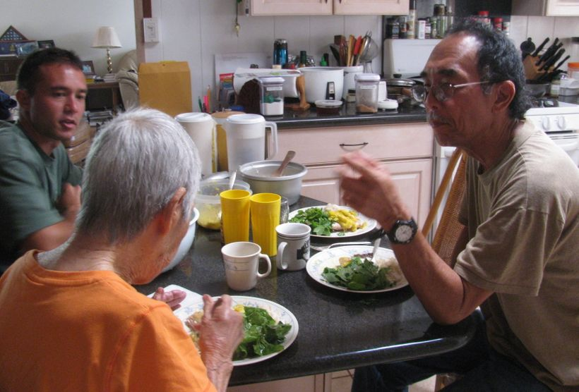 <em>Thanks to her supportive family, Florence Yasuda is able to enjoy healthy meals in the company of loved ones.</em>