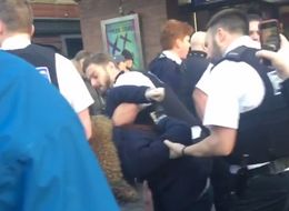 Police Accused Of 'Bullying' After Video Shows Dramatic Arrests Of Three Teens