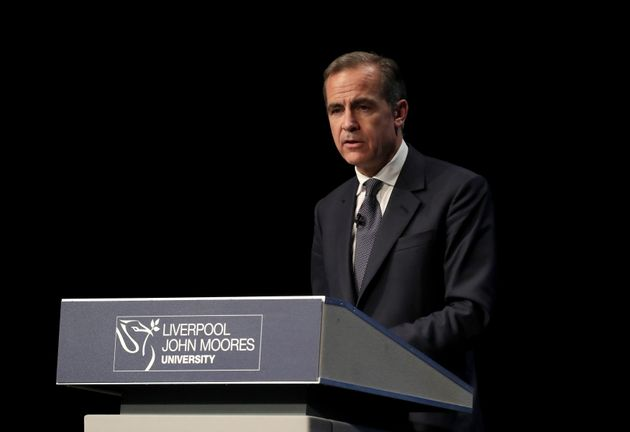 Bank of England Governor Mark Carney said millions of jobs in Britain are at risk of