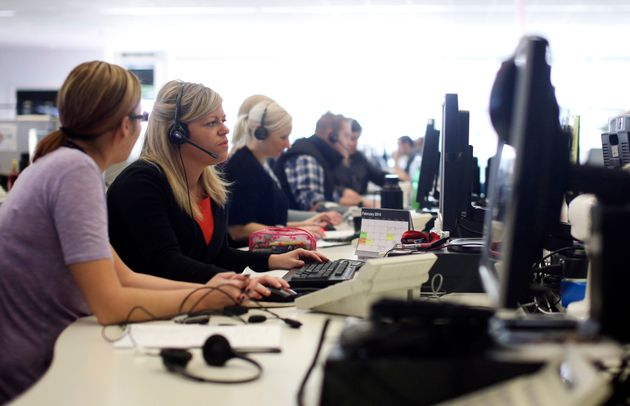 British call centre workers have a 99% chance of automation according to