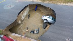 Woman Drowns After Sinkhole Filled With 12ft Of Water Swallows