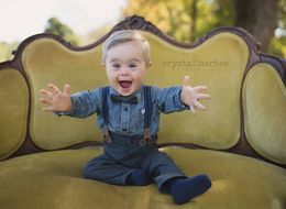 Toddler With Down's Syndrome Gets Modelling Job After Being Rejected