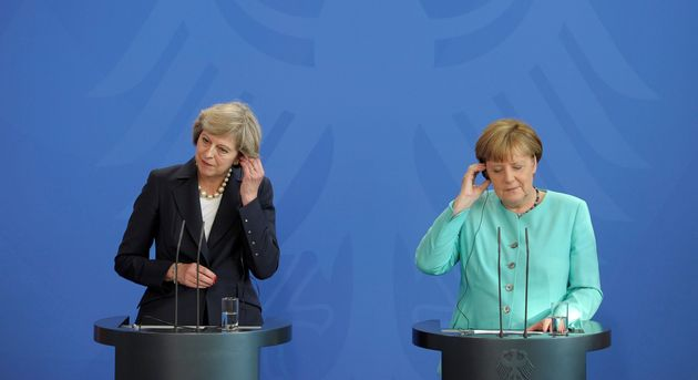 Theresa May and Angela Merkel have spoken about Britain's strategy for