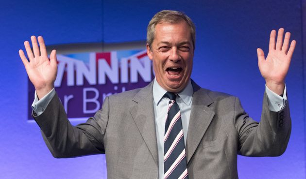 Nigel Farage is among those shortlisted for Time Person of the Year