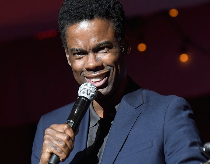 Chris Rock onstage at a benefit for Raising Malawi on Dec. 2.