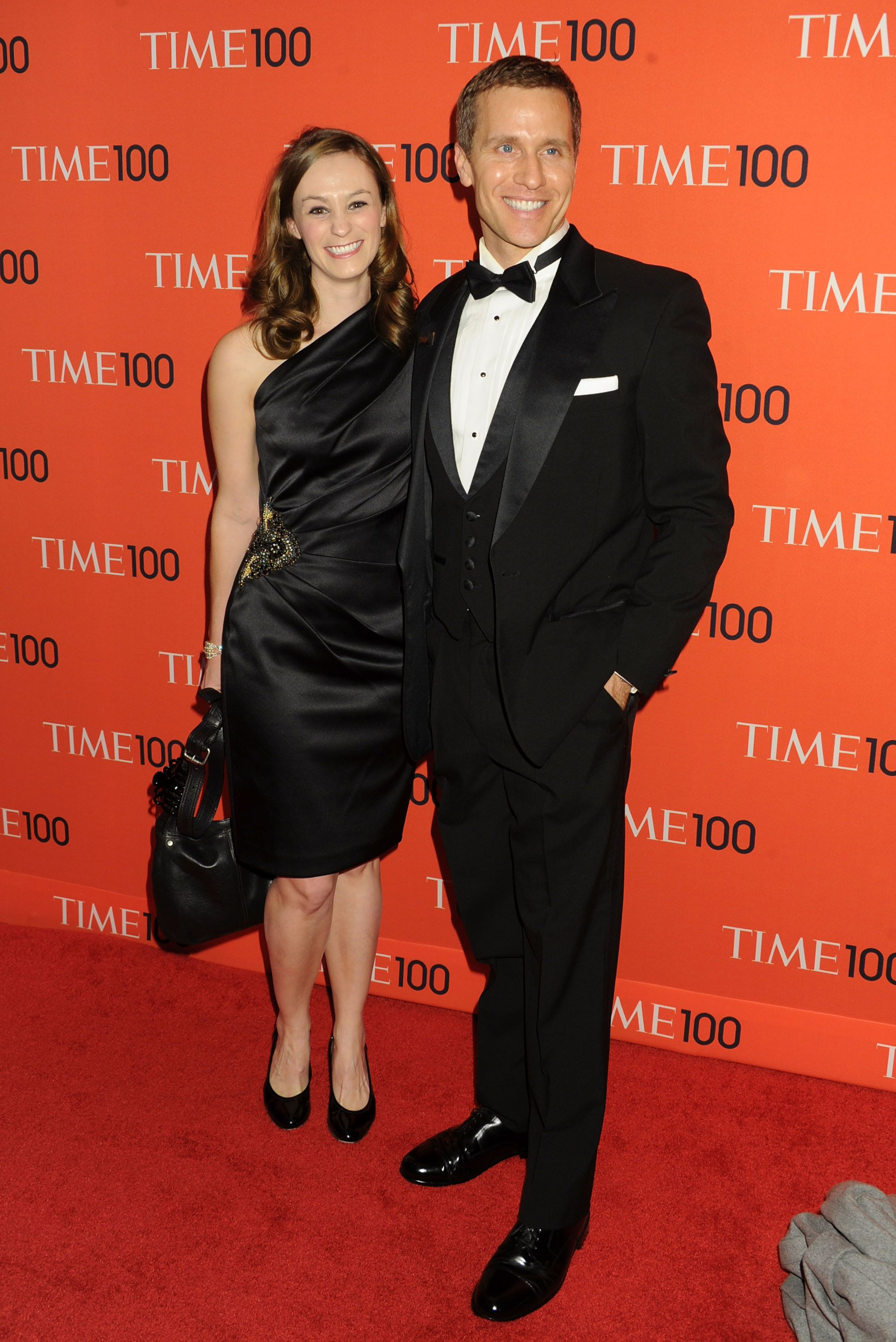Governor-elect Eric Greitens and his wife attended the 2013 Time 100 Gala in New York City.