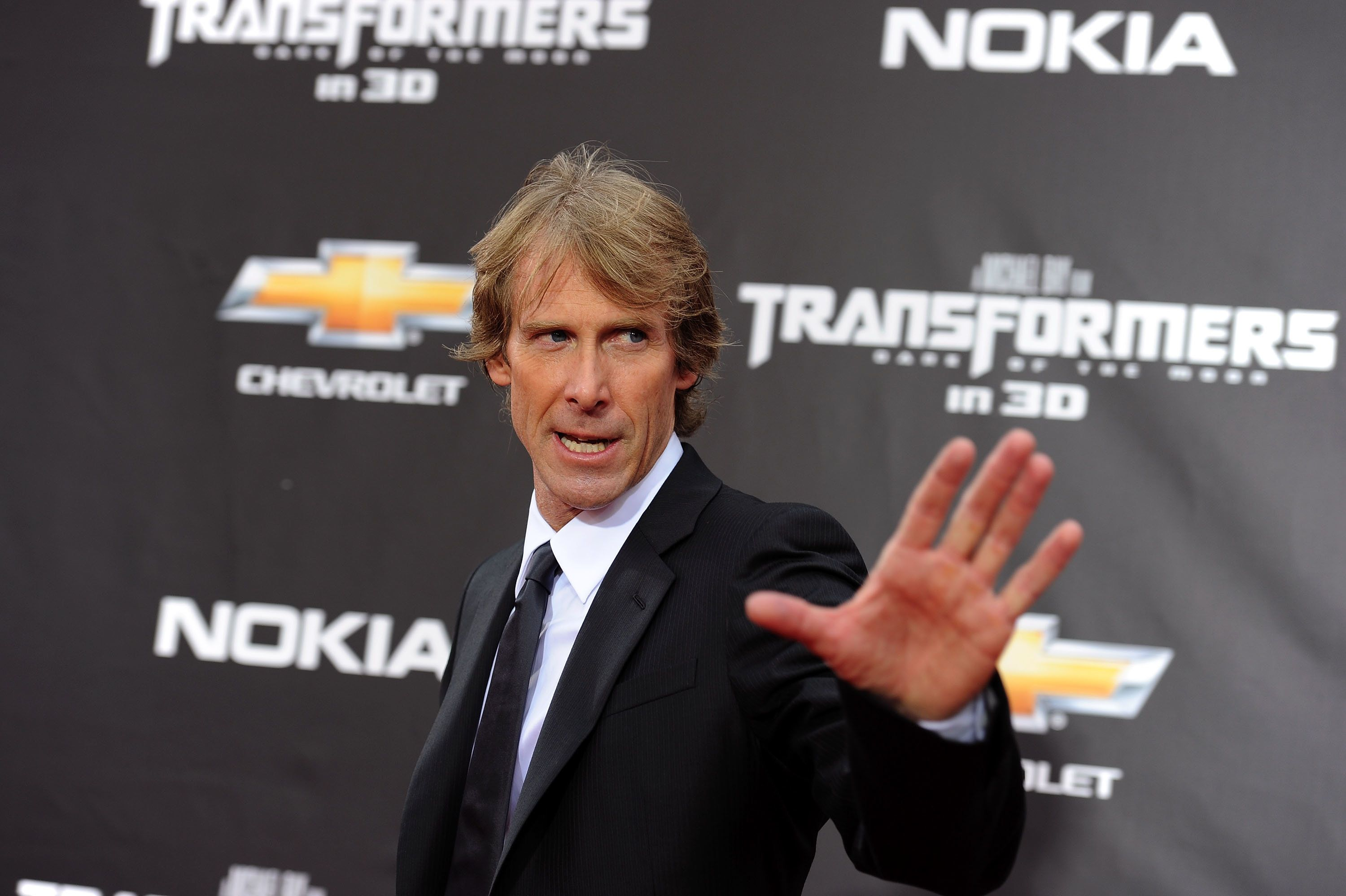 NEW YORK, NY - JUNE 28:  Producer/director Michael Bay attends the 'Transformers: Dark Of The Moon' premiere in Times Square on June 28, 2011 in New York City.  (Photo by Jason Kempin/Getty Images)