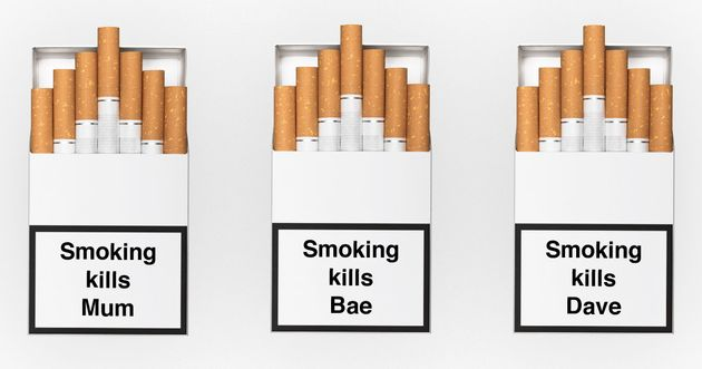 Personalised Cigarette Warnings Are The Stocking Filler For The Loved One You Want To Quit