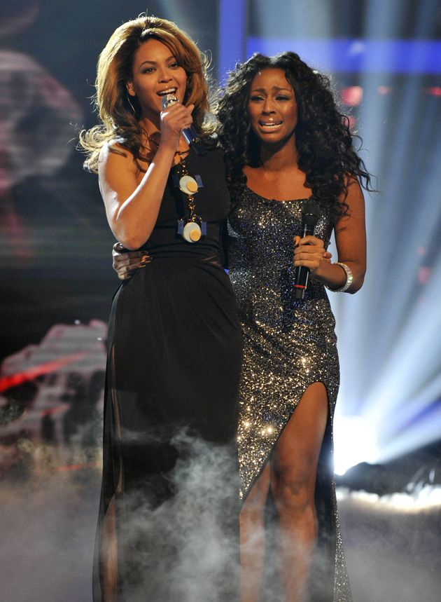 Alexandra Burke duetted with Beyoncé in the 2008 'X Factor'