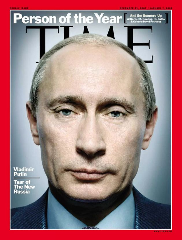 Vladimir Putin has already been Man Of The Year in