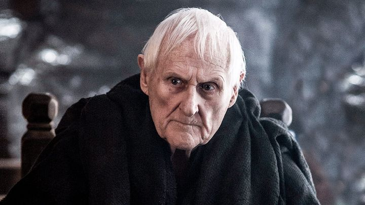 Peter Vaughan as Maester Aemon.