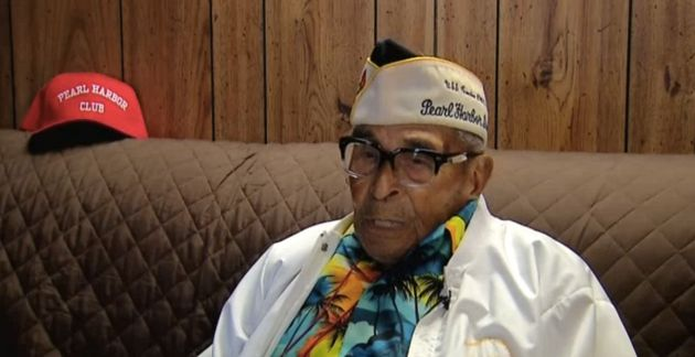 At 104 years of age, Ray Chavez is the oldest known survivor of the Pearl Harbor