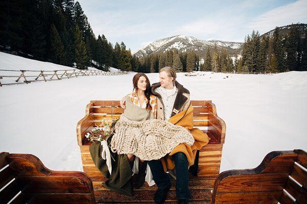 A cozy winter sleigh ride is just what Old Man Winter ordered. The only thing missing is a reindeer.