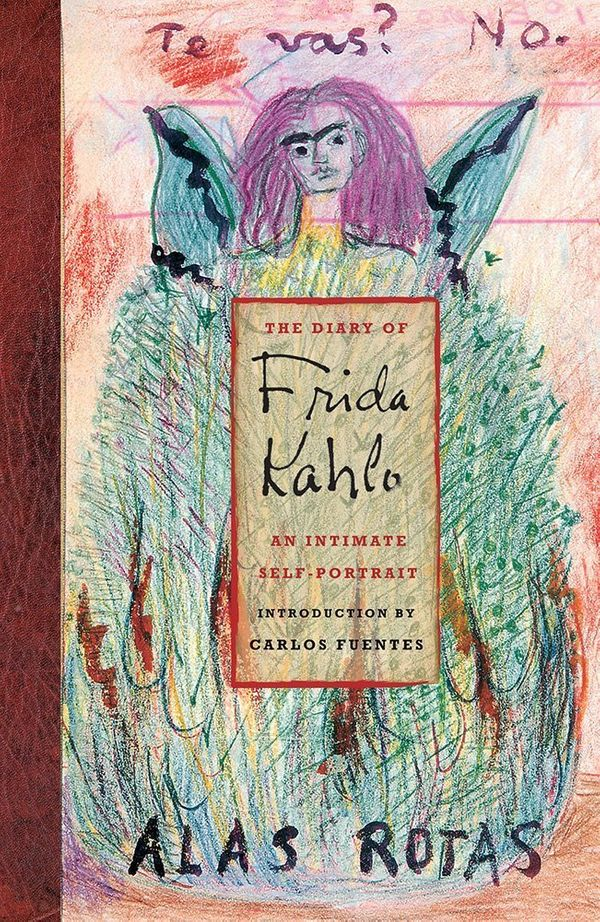 "$15.81, Amazon. <a href=""https://www.amazon.com/Diary-Frida-Kahlo-Intimate-Self-Portrait/dp/0810959542/ref=sr_1_2?amp=&ie=UTF"