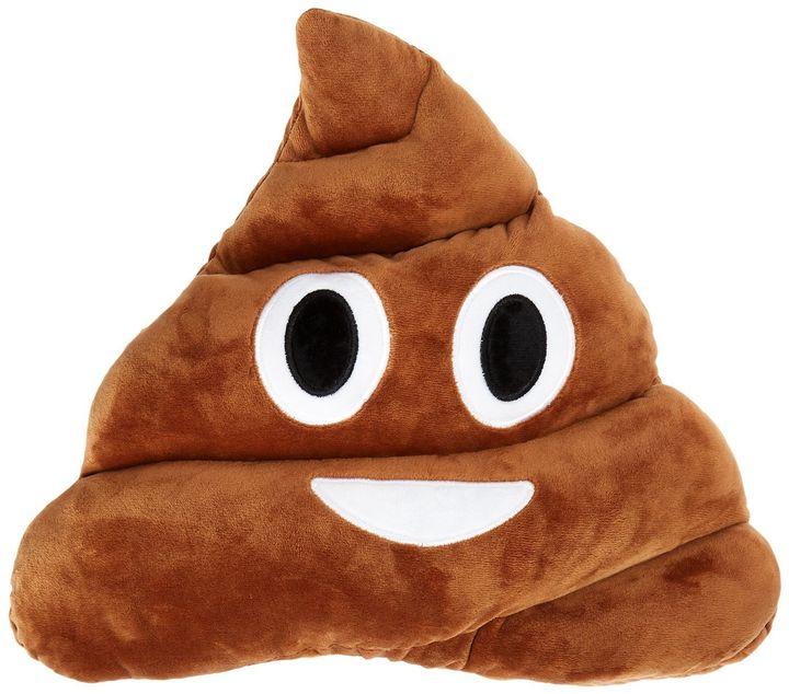 "<a href=""https://www.amazon.com/LinTimes-Emoticon-Cushion-Poop-Face/dp/B00SN6P88C/ref=sr_1_6?ie=UTF8&amp;qid=1481047348&amp;sr=8-6&amp;keywords=poop+emoji+pillow"" target=""_blank"">Poop emoji pillow</a>, $4.75 at <a href=""https://www.amazon.com/ref=nav_logo"" target=""_blank"">Amazon</a>"