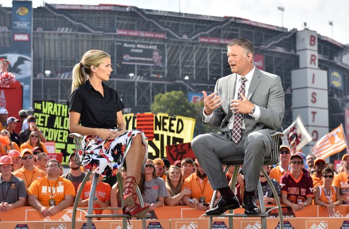 """Ponder's dynamic talent enabledher to become a weekly regular on """"GameDay."""""""
