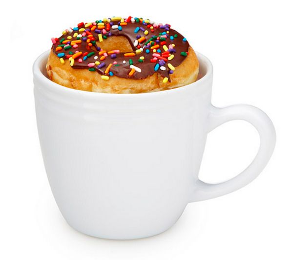 """<a href=""""http://www.uncommongoods.com/product/donut-warming-mug"""" target=""""_blank"""">Donut Warming Mug</a>, $14.95 at <a href=""""ht"""