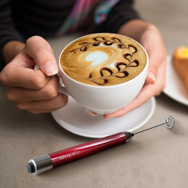 """<a href=""""https://www.amazon.com/Savvy-Coffee-Handheld-Frother-Stand/dp/B01BH1YMWW/ref=sr_1_32?amp=&ie=UTF8&keywords=coffee+gi"""