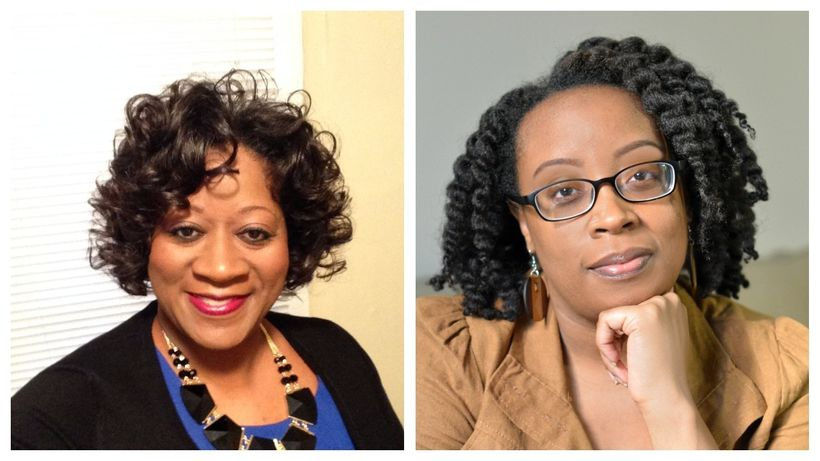 Editors of Lez Talk: Dr. Stephanie Andrea Allen & Lauren Cherelle.