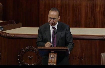 Rep.  Luis Gutiérrez (D-IL) speaking on Israel, Palestine and the Two State Solution, December 6, 2016