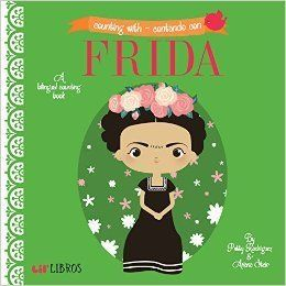 "$8.24, Lil' Libros. <a href=""https://www.amazon.com/Counting-Contando-Frida-Patty-Rodriguez/dp/1495126560/ref=pd_sbs_14_t_0?_"